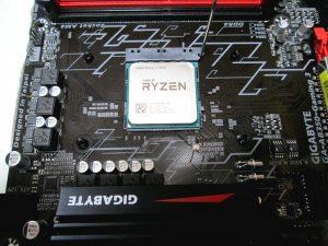 CPUソケット上のCPU